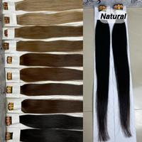 Extension ring human hair panjang 60 cm isi 100 helai - Natural, 60 cm