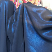kain sifon silk foil metalik /bahan chiffon atasan