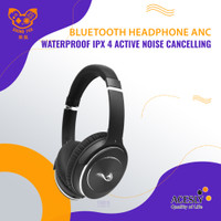 Bluetooth Headphone ANC Waterproof IPX 4 Active Noise Cancelling