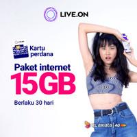 Kartu Perdana Live.On XL 15GB (30 hari)