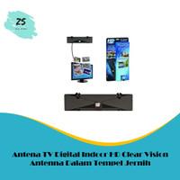 Antena TV Digital Indoor HD Clear Vision Antenna Dalam Tempel Jernih