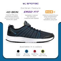 SPOTEC Sepatu Running Caribian Biru Tua - Biru Muda - 38