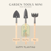 Alat Berkebun Cangkul Sekop Garpu / Garden Tool Mini