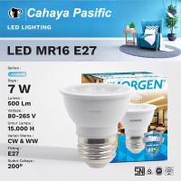Lampu LED MORGEN MR16 7W E27 6500K/3000K 500LM untuk lukisan atau dind