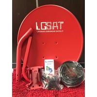 Antena Parabola mini 45cm tanpa dekoder kvision mola