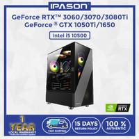 IPASON Desktop PC GeForce 1650/3060/3070/3080Ti Intel i5 10500