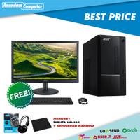 PC Acer Aspire TC-875 - i3-10100, 4GB, 1TB, 19.5″ ,W10 Home, Black