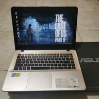 Laptop Asus Vivobook A442UQ, Core i7-7500U, Gen 7th, Double Vga