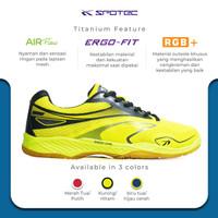 SPOTEC Sepatu Titanium Kuning - Hitam