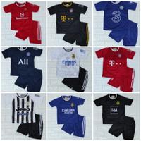 setelan baju bola anak-anak umur 8 bulan sampai 10 tahun keatas