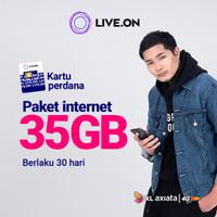 Kartu Perdana Live.On XL 35GB (30 hari)