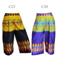 Celana Kulot Klok Panjang Batik C46C47C48