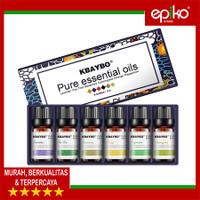 Aroma Terapi   Aromatherapy   Essential Oil   DAPAT 6 BOTOL x 10ml