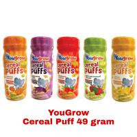 Yougrow Cereal Puff 49 Gram Makanan Bayi Anak You Grow