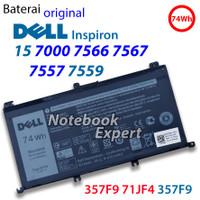 Baterai Original Dell Inspiron 15 7000 7566 7567 7557 7559 71JF4 357F9