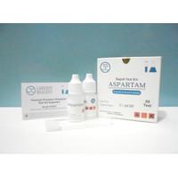 Rapid Test Aspartam Test Kit / Reagen Uji Cepat Pemanis Aspartame