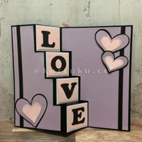 "Trifold Card ""HONEY"" [Greeting Card] / Kartu Ucapan / DIY"