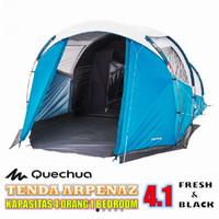 Tenda Camping Quachua Besar Arpenaz 4.1 F&V 4 Orang 1 Ruangan Termurah