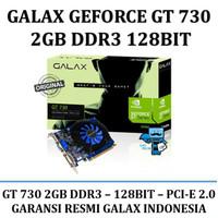 Vga Card Galax Geforce Gt 730 2Gb Ddr3 128 Bit Wulanindah558