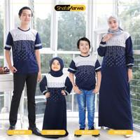 Baju Couple Keluarga Kaos Sarimbit Family Set Shafamarwa 52 Navy