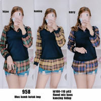Baju Atasan Wanita Import Katun - 958