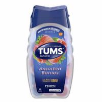 TUMS Antacid Isi 72 Tablet Kunyah - Antasida Obat Maag & Lambung - Berries
