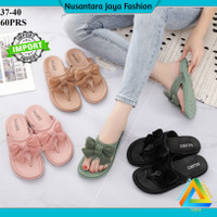 Sandal Jelly Wanita [ 1607-K11 ] Sandal Santai / Sandal Balance