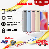HP Xiaomi Redmi 6A Ram 3GB Internal 32GB Baru Original fullset