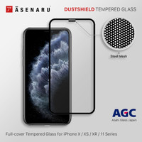 Asenaru DustShield iPhone 11/Pro/Max Full Cover Tempered Glass
