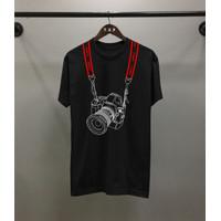 T-shirt Canon / Baju Kaos Distro Pria Wanita Cotton 30s