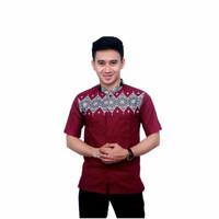 baju koko motif batik