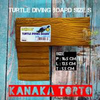 Turtle Diving Board / Tempat Jemur Kura Air / Basking Kura Air Size S