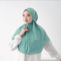 jilbab instan bergo tali hijab non pet maryam M - wardah