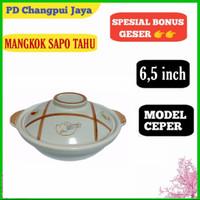 panci Claypot sapo keramik masak obat 6,5 inch Claypot bowl tanah liat