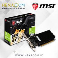 MSI Geforce GT 710 2GB DDR3 - N710-2GD3H LP 64bit