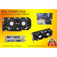 MSI GeForce GTX 1050 Ti 4GB DDR5 - 4GT OC