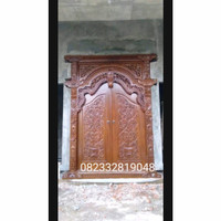 Pintu Gebyok Ukiran Jati Klasik Pintu Gebyok Ukiran Jati Jepara murah