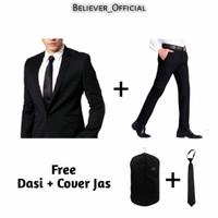 Blazer Pria-Setelan Blazer Pria-Jas Blazer Pria Premium Full Seat