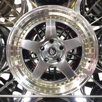 Velg racing ring 17 inch Rep. Works W5S H5 Celong Mobil Civic, Innova