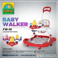 Baby Walker Family FB 111 Music Tongkat Dorongan Mainan Ayam