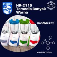 PHILIPS Blender Plastik 2Liter HR2115 - Garansi Resmi HR 2115 FU Color