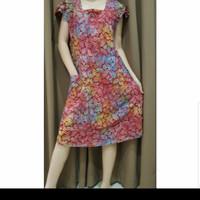 Baju Tidur Batik Anita Daster Size L Tanpa Kancing