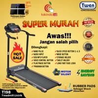 Alat Fitness Treadmill Elektrik Twen T198 Promo Termurah