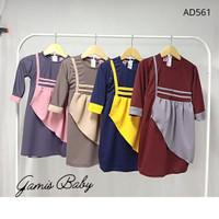 Baju Gamis Bayi Perempuan Terbaru / Pakaian Baby Perempuan 3 - 18 Bln