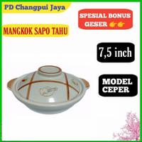 panci Claypot sapo keramik masak obat 7,5 inch claypot bowl tanah liat