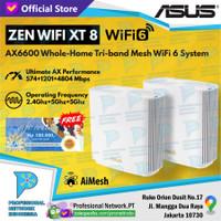ASUS ZenWiFi AX-6600 Whole-Home Tri-Band Mesh WiFi 6 System XT8 AX6600 - Putih