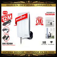 Antena TV Digital Indoor Outdoor PX DA5200 DA-5200 DA 5200 ORIGINAL