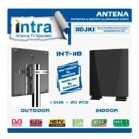 Antena TV luar & Dalam Intra Int-118 Analog & digital indoor & Outdor