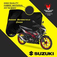 sarung body motor one way hitam polos indoor murah supra X supra GTR - supra GTR