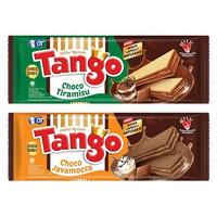 Tango Wafer Choco Series (Choco Javamocca / Choco Tiramisu) 130 gram